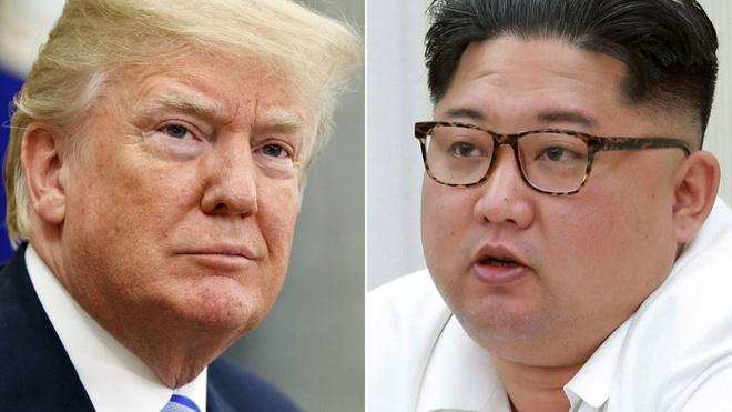 Tong thong Trump va lanh dao Kim se cung an trua o Singapore hinh anh