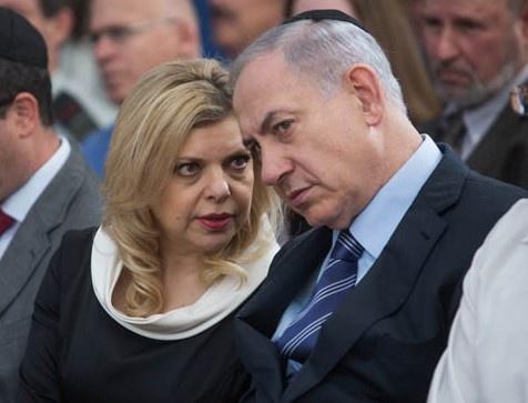 Phu nhan thu tuong Israel bi buoc toi gian lan va boi tin hinh anh