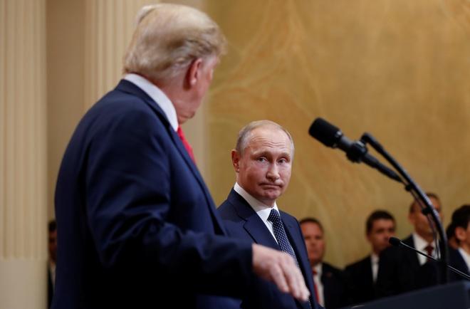 Putin noi san sang den Washington, moi Trump tham Moscow hinh anh