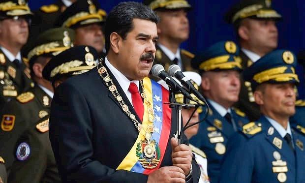 TT Venezuela thoat chet trong vu am sat bang chat no tai le duyet binh hinh anh