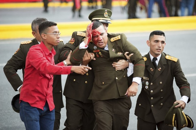 TT Venezuela cao buoc tong thong Colombia dung sau vu am sat hut hinh anh