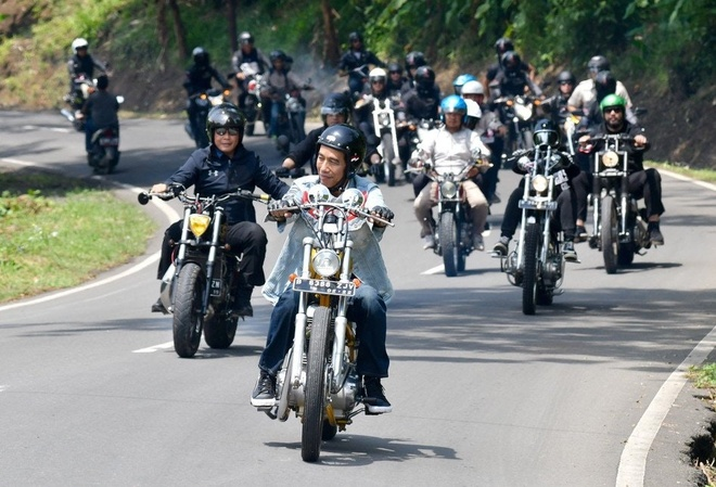 Tranh cai viec tong thong Indonesia lai moto o le khai mac ASIAD hinh anh 3