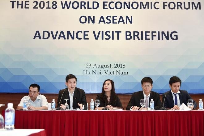 Viet Nam don doan tien tram chuan bi hoi nghi WEF ASEAN hinh anh
