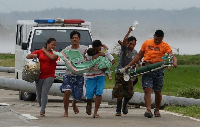 Mien Bac Philippines tan hoang sau sieu bao Mangkhut, 25 nguoi chet hinh anh