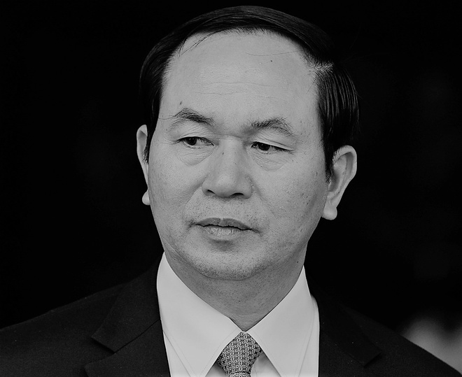 Cac nuoc gui dien chia buon tien dua Chu tich nuoc Tran Dai Quang hinh anh