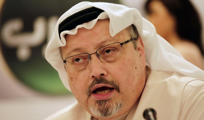 Saudi Arabia thua nhan nha bao bi danh chet trong lanh su quan hinh anh