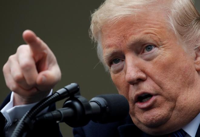 TT Trump san sang dong cua chinh phu My 'trong nhieu nam' hinh anh
