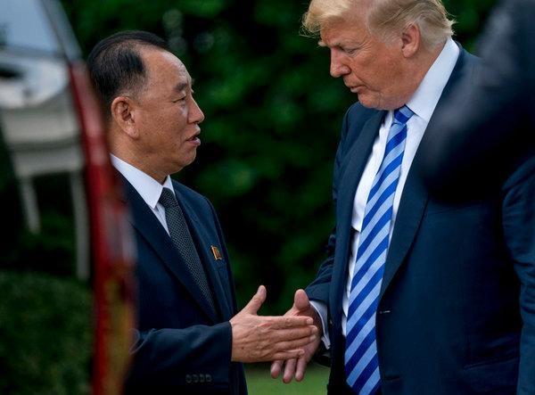 Cuu trum tinh bao Trieu Tien lai len duong sang My gap TT Trump hinh anh