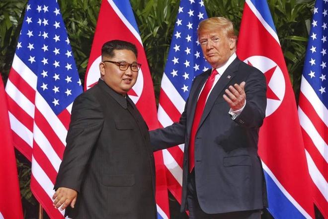 TT Trump va ong Kim Jong Un se gap nhau vao cuoi thang 2 hinh anh