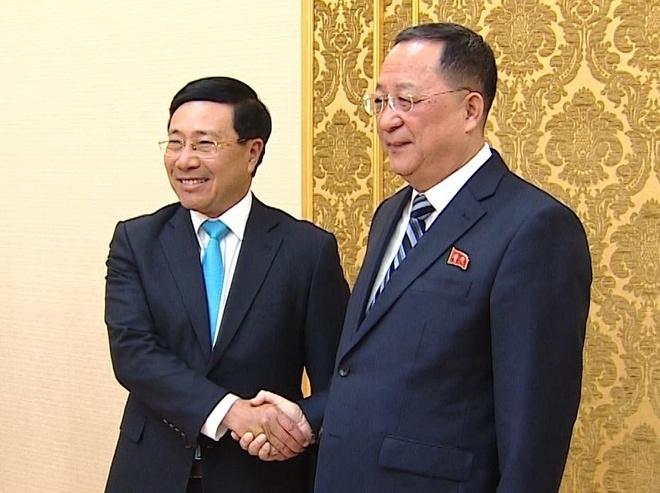 PTT Pham Binh Minh: VN san sang giup Trieu Tien phat trien kinh te hinh anh