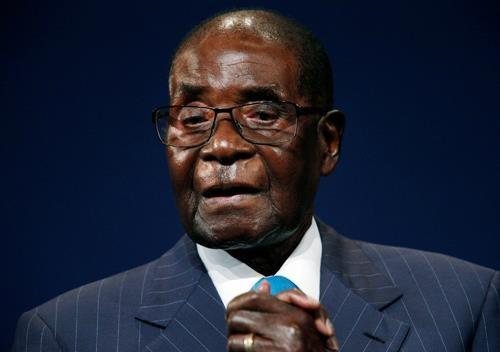 tranh cai ve thi the Mugabe anh 1