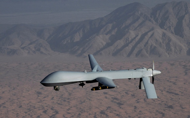 Drone My tan cong IS nhung ban nham dan Afghanistan, 30 nguoi chet hinh anh 1