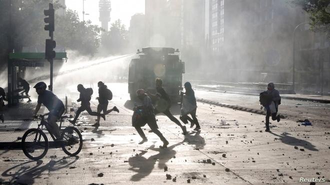 Chile huy dang cai APEC nua thang truoc ngay hoi nghi khai mac hinh anh 1