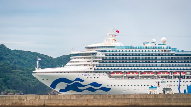 So ca nhiem virus corona tren du thuyen o Nhat tang vot len 136 hinh anh 1 Diamond_Princess_Cruise_Ship_iStock.jpg