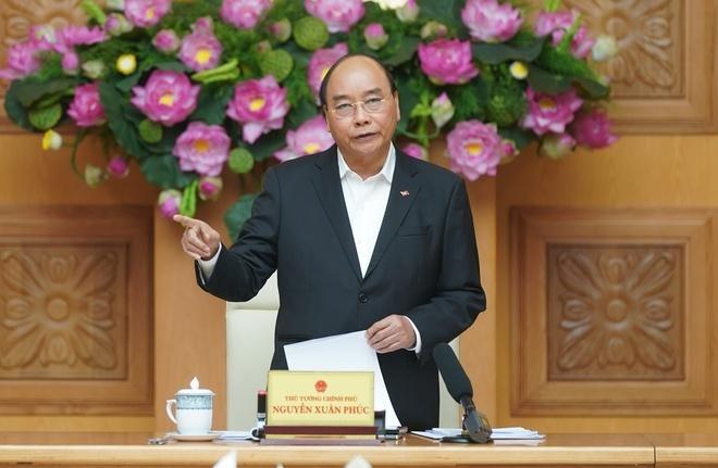 Thủ tướng Nguyễn Xuân Phúc. Ảnh: Quang Hiếu.