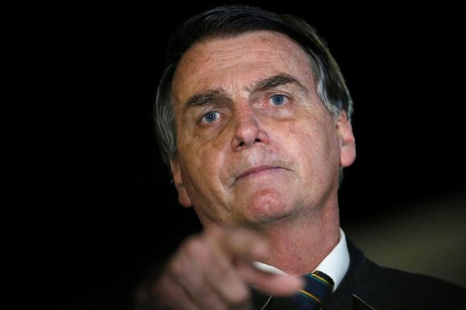 Toa cong bo video cuoc hop cua chinh phu Brazil co noi dung tho tuc hinh anh 1 Bolsonaro.jpg