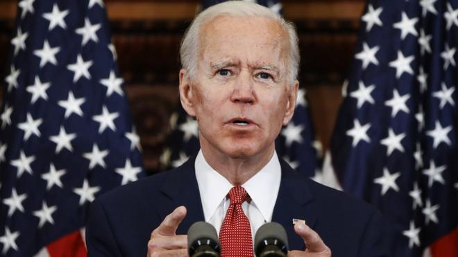 Joe Biden la ung vien dang dan chu anh 1