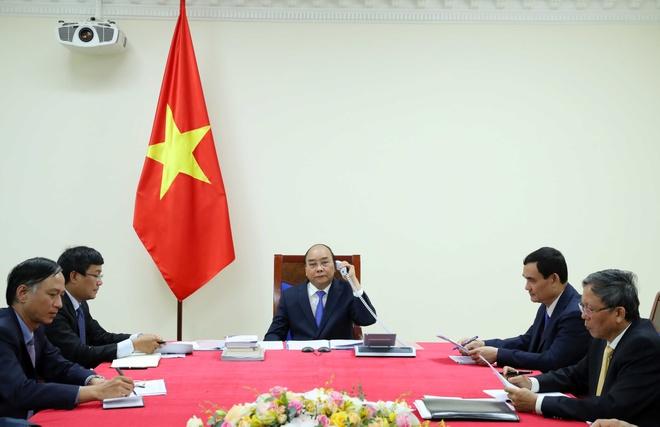 thu tuong Nguyen Xuan Phuc dien dam anh 1