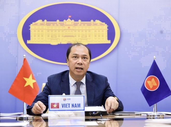 Hoi nghi Tham van Quan chuc cao cap ASEAN - Trung Quoc anh 1