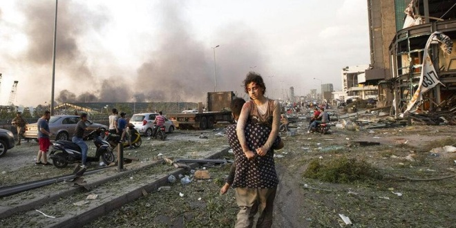 nguoi Viet bi thuong o Beirut anh 1