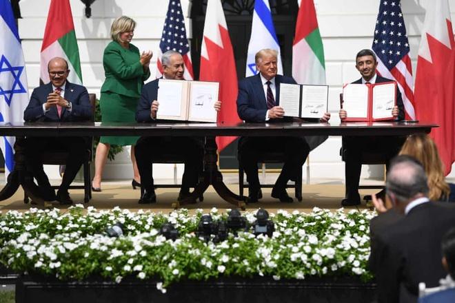 Israel, UAE và Bahrain ký thỏa thuận lịch sử ở Nhà Trắng - Thế giới -  ZINGNEWS.VN