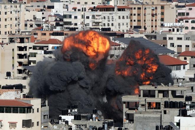 xung dot Israel Hamas anh 1