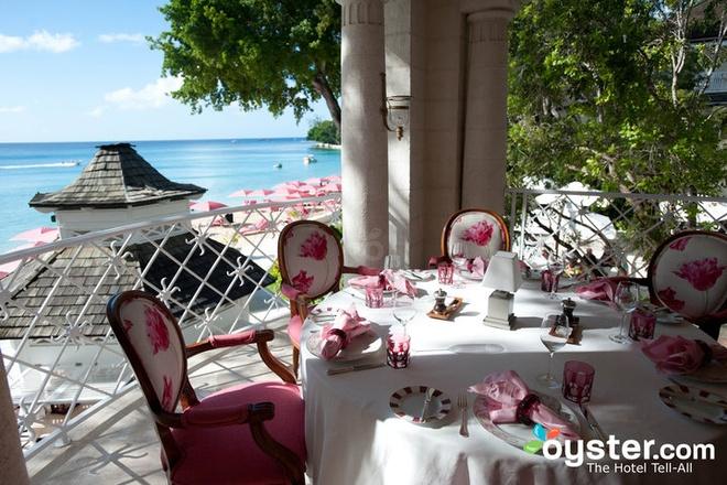 7. Khách sạn Sandy Lane, Barbados (<abbr class=