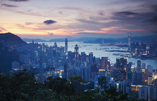 Dem khong ngu o Hong Kong hinh anh