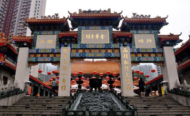 Nhung diem den tam linh tai Hong Kong hinh anh