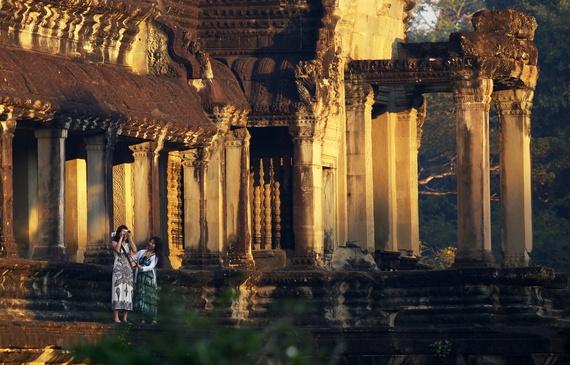 Bau troi sao tuyet dieu o Angkor Wat hinh anh 7
