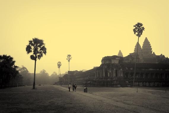 Bau troi sao tuyet dieu o Angkor Wat hinh anh 5