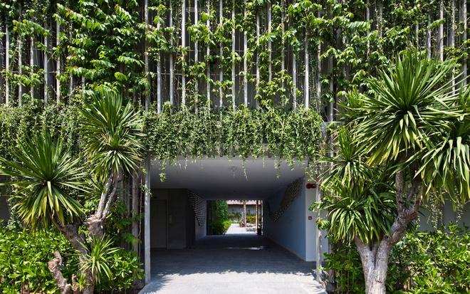 Bao Tay ca ngoi khong gian xanh mat cua Naman Da Nang hinh anh 2 Khu nghỉ dưỡng Naman Retreat trải dài trên một diện tích lên tới 50 ha bên bờ biển Đà Nẵng.