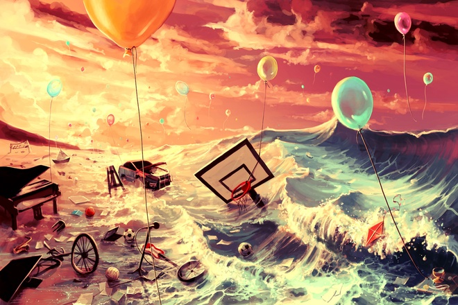 Van may ngay chu nhat (4/10) hinh anh 1 Đừng buông tay khỏi giấc mơ dù còn nhiều sóng gió.