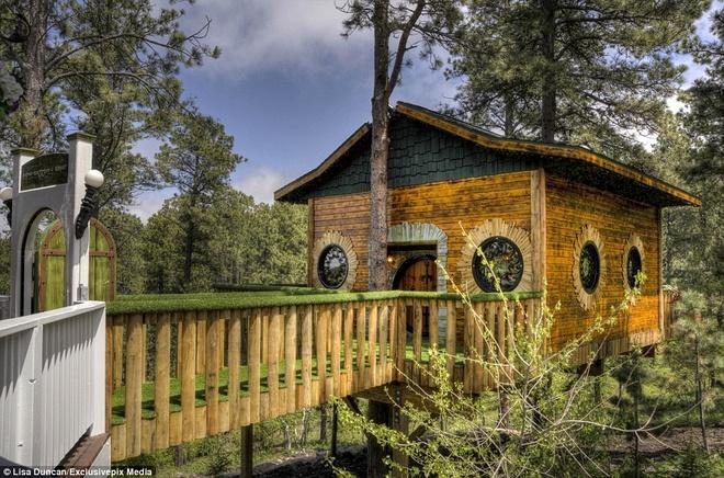 Ngoi nha danh cho fan cuong cua nguoi Hobbit hinh anh 12 Ngôi nhà có thể chứa tối đa tới 16 khách.