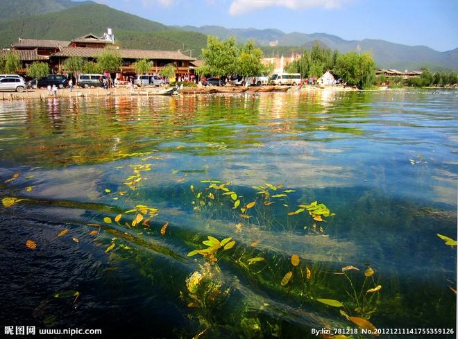 """Nhung diem den hap dan dip cuoi thu o Trung Quoc hinh anh 10 Tới hồ Lugu thuộc Tứ Xuyên và Vân Nam. Hồ Lugu chính là """"Tây Lương Nữ Quốc"""" - một địa danh được nhắc đến trong phim """"Tây Du Ký"""" của Ngô Thừa Ân. Ngày nay được cho là khu vực sinh sống của cư dân Moso, đến nay vẫn giữ truyền thống mẫu hệ … Ảnh: Nipic"""