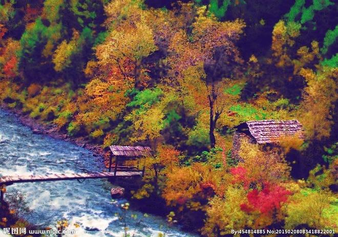 Nhung diem den hap dan dip cuoi thu o Trung Quoc hinh anh 2 Miyaluo có khung cảnh tuyệt đẹp với núi tuyết, suối nước nóng, rừng cây lá đỏ. Ảnh: Nipic
