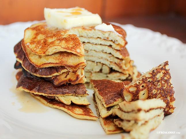 Lam pancake chuoi ngon tuyet cho mua tro ret hinh anh