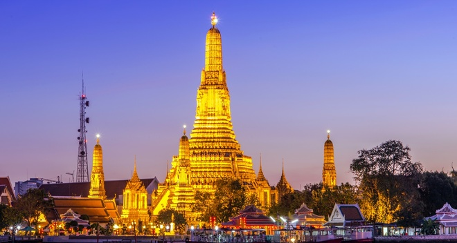 Bangkok vuot mat London, thanh do thi hut khach nhat hinh anh
