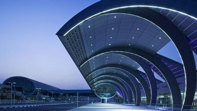San bay quoc te Dubai nhon nhip nhat the gioi hinh anh 1