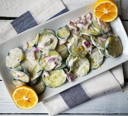 10 cong thuc salad dua chuot don gian, giau dinh duong hinh anh 5