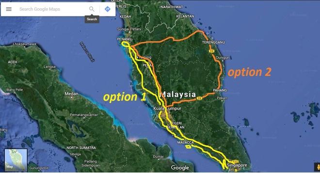 Phuot thu Viet len ke hoach du ngoan Malaysia bang xe may hinh anh 2