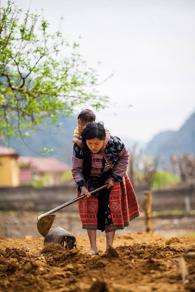 Trien lam anh 'Phu nu Viet Nam' tren duong pho Hoi An hinh anh 8