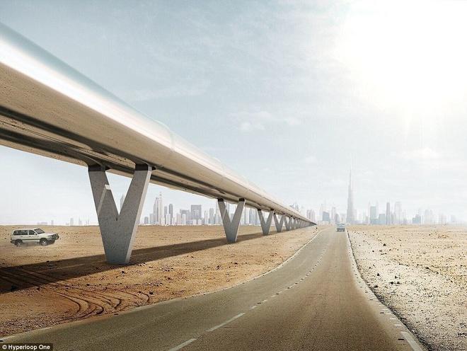 Dubai xay tau sieu toc 1.220 km/h hinh anh 1
