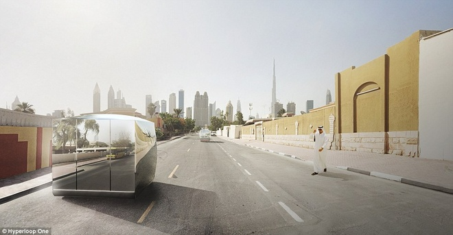 Dubai xay tau sieu toc 1.220 km/h hinh anh 6