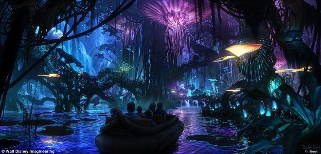 The gioi ky ao Pandora cua 'Avatar' xuat hien o Disneyland hinh anh