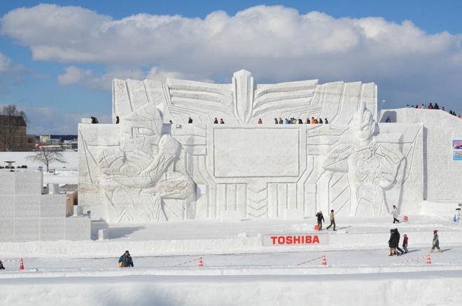 Tuyet phu trang Hokkaido anh 7