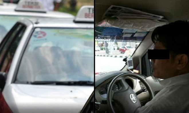 Du khach to tai xe taxi Malaysia gian lan tien cuoc hinh anh 1