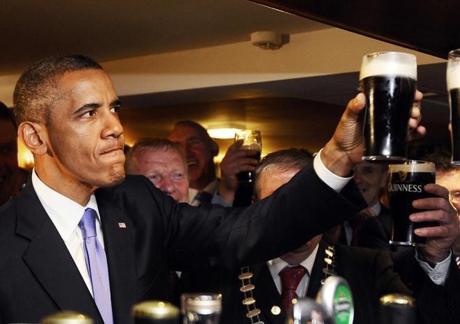 Nhung chuyen cong du ket hop du lich cua Tong thong My Obama hinh anh