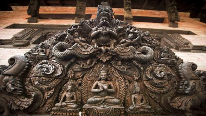 Ben trong khach san dep nhat dat Phat Nepal hinh anh 3