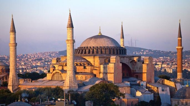 Bi mat ben trong Thanh duong Hagia Sophia hinh anh 2